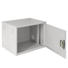 Настенный антивандальный шкаф NETLAN, 9U, Ш600хВ470хГ450мм