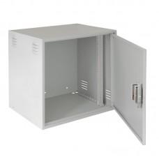Настенный антивандальный шкаф сейфового типа NETLAN, 12U, Ш600хВ600хГ600мм