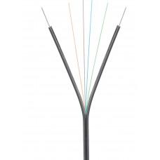 BK    Кабель NIKOLAN волоконно-оптический, 2 волокна, одномодовый 9/125мкм, стандарта OS2, FTTx, внутренний/внешний, LSZH нг(B)-HFLTx, бухта 1000 м