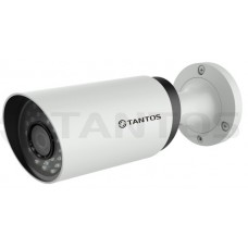 IP видеокамера уличная цилиндрическая с ИК подсветкой, трехмегапиксельная TSi-Pn325VP (2.8-12)