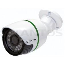 IP видеокамера для видеоверификации уличная цилиндрическая с ИК подсветкой, мегапиксельная TSi-Ple11FA (3.6)
