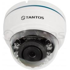 Внутренняя купольная цветная видеокамера TSc-Di960pAHDf (3.6)