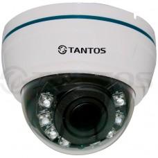 Внутренняя купольная цветная видеокамера TSc-Di960pAHDv (2.8-12)