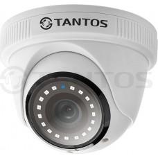 Внутренняя купольная универсальная видеокамера TSc-EBecof1 (2.8)