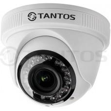 Внутренняя купольная универсальная видеокамера TSc-Ebecof24 (3.6)