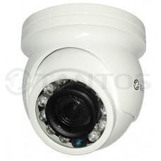 Купольная антивандальная универсальная видеокамера  TSc-Vecof (3.6)