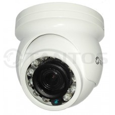 Купольная антивандальная универсальная видеокамера  TSc-Vecof24 (3.6)