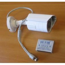 Уличная видеокамера мини-цилиндр 420 твл