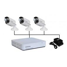 EAE-KV1-3 Комплект видеонаблюдения AHD 3 видеокамеры