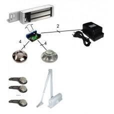 Комплект электромагнитного замка с ключами ТМ C0101