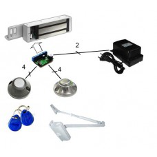 Комплект электромагнитного замка с бреклами Proximity C0102