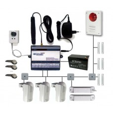 Комплект сотовой охранной системы с контролем отопительного оборудования O0102